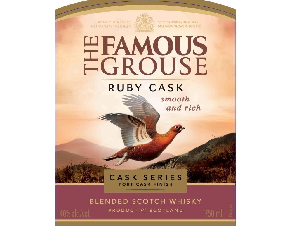Famous Grouse Ruby Cask se une a la serie experimental
