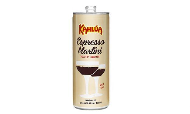 Kahlúa estrena Martini Espresso en lata para RTD