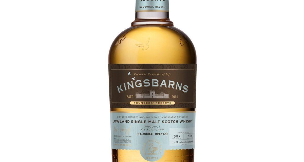 Kingsbarns Distillery presenta su primer whisky escocés