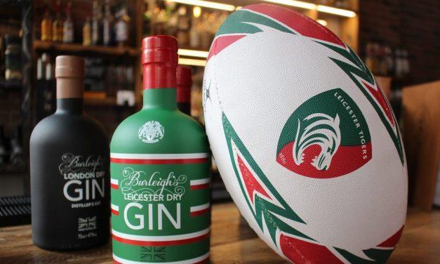 Burleighs presenta la ginebra de Leicester Tigers