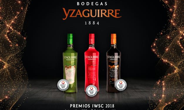 Vermouth Yzaguirre consigue tres medallas en el IWSC 2018