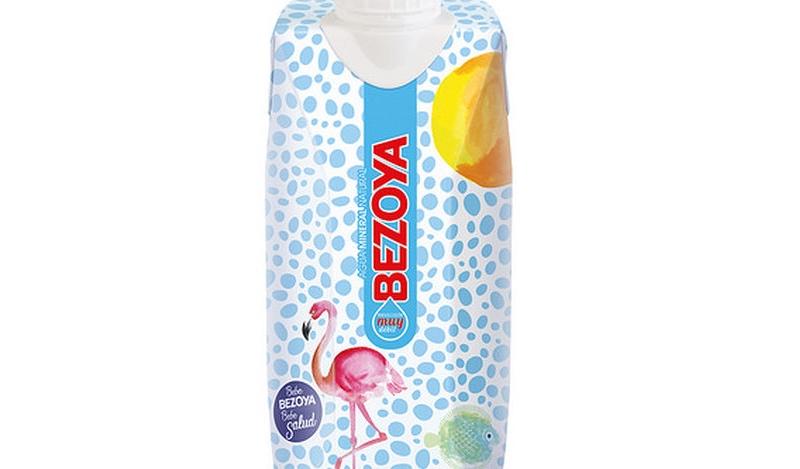 'Bezoya' lanza la primera agua de mineralización muy débil envasada en brik