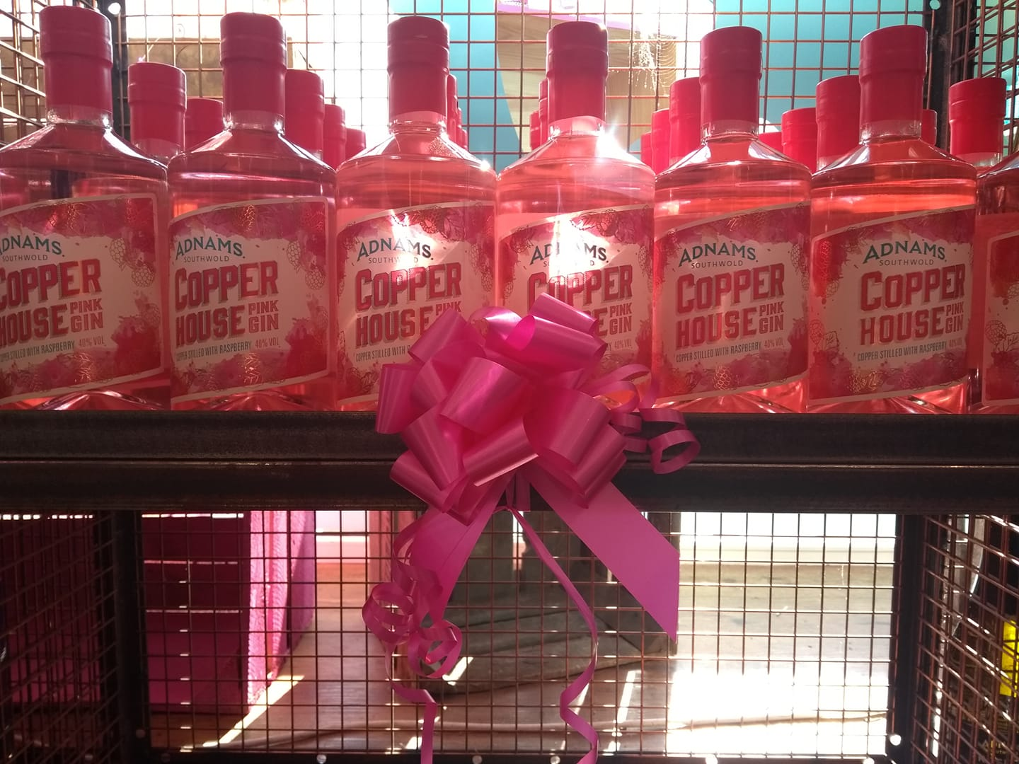 Copper House Pink Gin joins the Adnams range