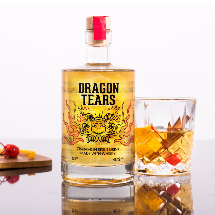 Dragon Tears Whisky is said to contain the real-life tears of a Dragon