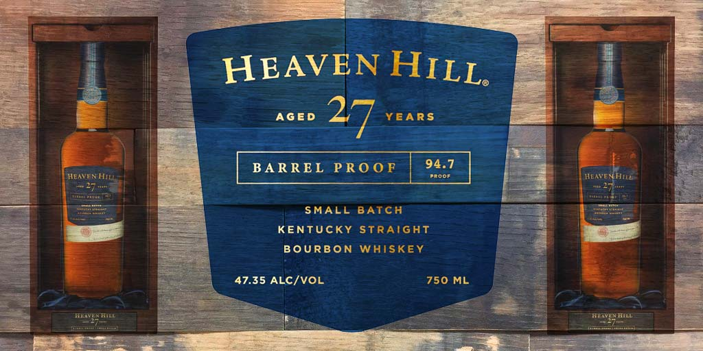 sample bottle of Heaven Hill 27-Year-Old Barrel Proof Small Batch