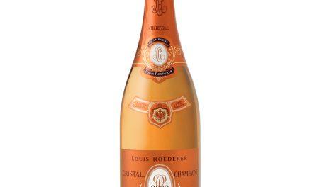 Louis Roederer Cristal Rosé 2002, primer champagne con 100 puntos Parker
