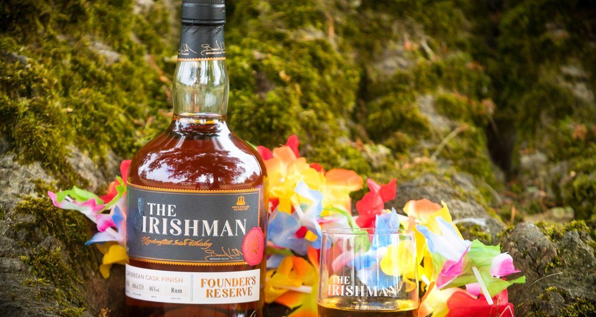 Walsh Whiskey presenta el whisky irlandés acabado con ron, The Irishman Founder's Reserve Cask Series