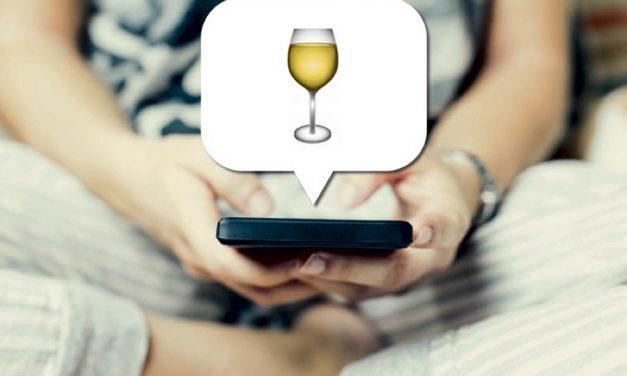 El emoji del vino blanco pronto podría llegar a Whatsapp