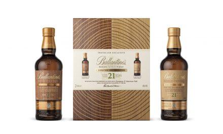Ballantine's presenta su colección de whisky de 21 años