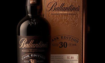 Ballantine's presenta la edición especial 30YO Cask Edition en travel retail