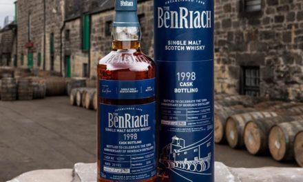 BenRiach cumple 120 años con BenRiach Marsala Hogshead Cask No. 10299, edición limitada de hace 20 años