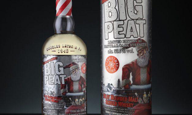 Douglas Laing presenta el packaging de Big Peat Christmas 2018