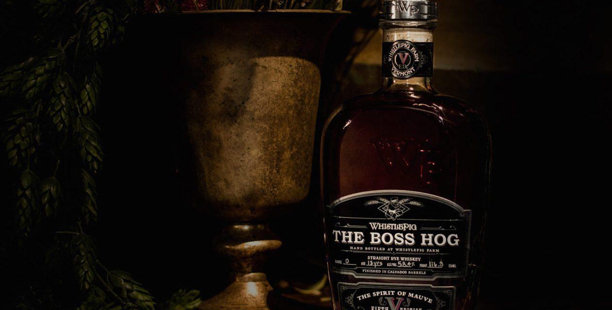 Whistle Pig presenta la quinta expresión de Boss Hog con The Spirit of Mauve