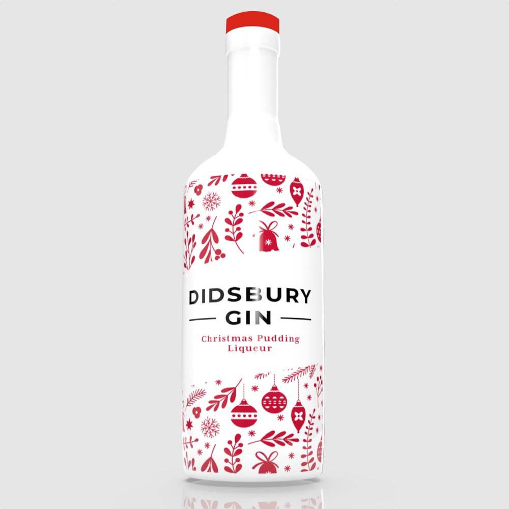 Didsbury Christmas Pudding Gin Liqueur will launch in Selfridges