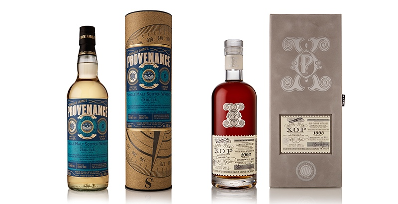 A six-year-old Caol Ila and a 25-year-old Glen Garioch have been released to mark Douglas Laing's 70th anniversary