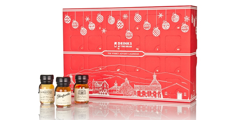 The original Drinks by the Dram Whisky Advent Calendar will return for Christmas 2018