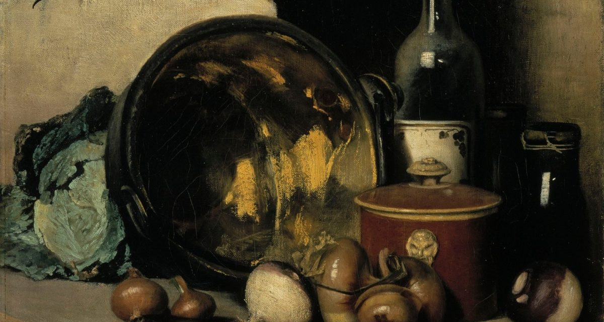 """Bodegón"" (1877), de Fanny Churberg"