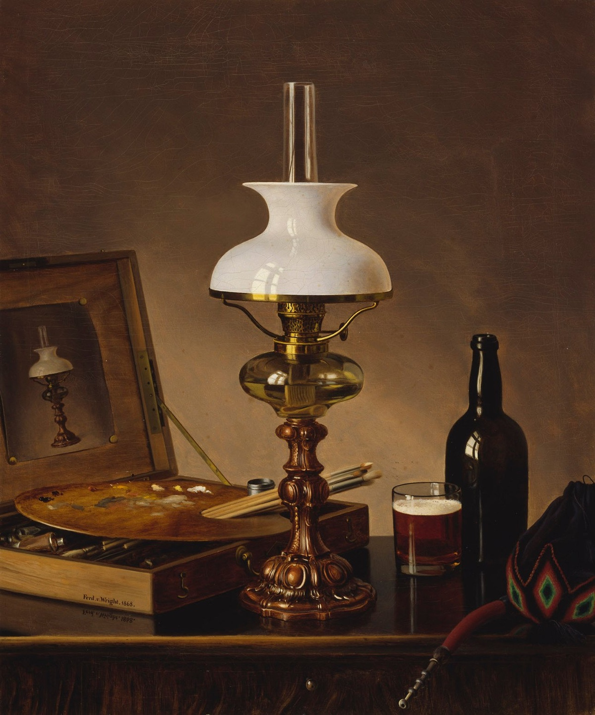Obra de Ferdinand von Wright