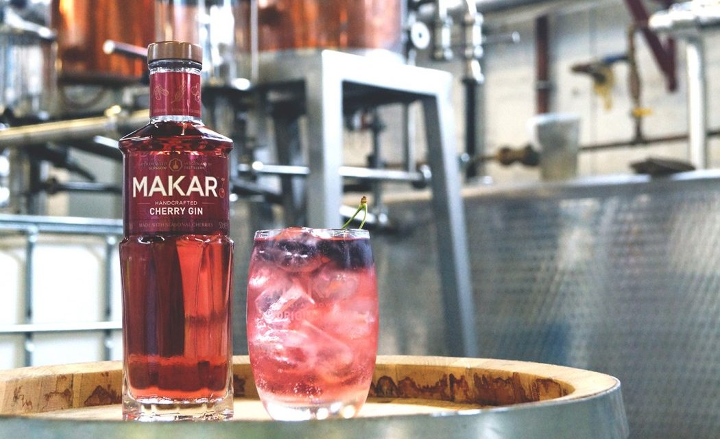 Glasgow Distillery Co lanza Makar Cherry Gin