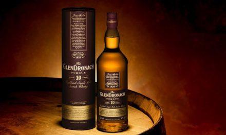 GlenDronach presenta su primer whisky para viajes al por menor exclusivo, Forgue Aged 10 Years