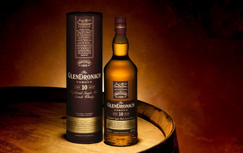 The GlenDronach Forgue Aged 10 Years is the brand's first travel retail-exclusive release