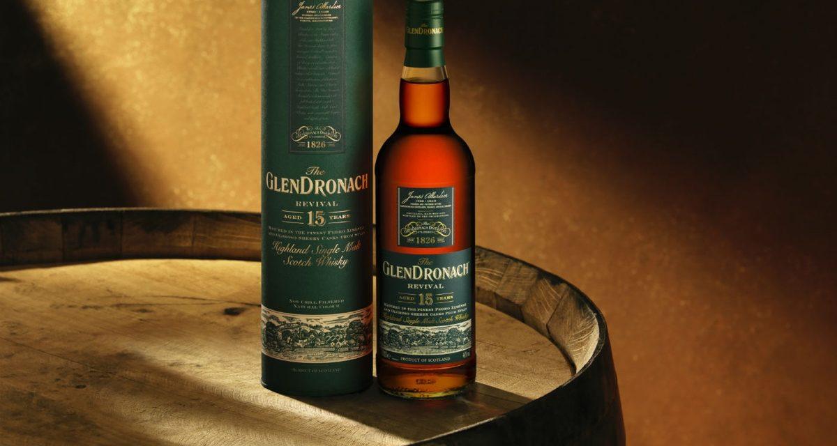 GlenDronach relanza el single malt de 15 años de edad con The GlenDronach Revival