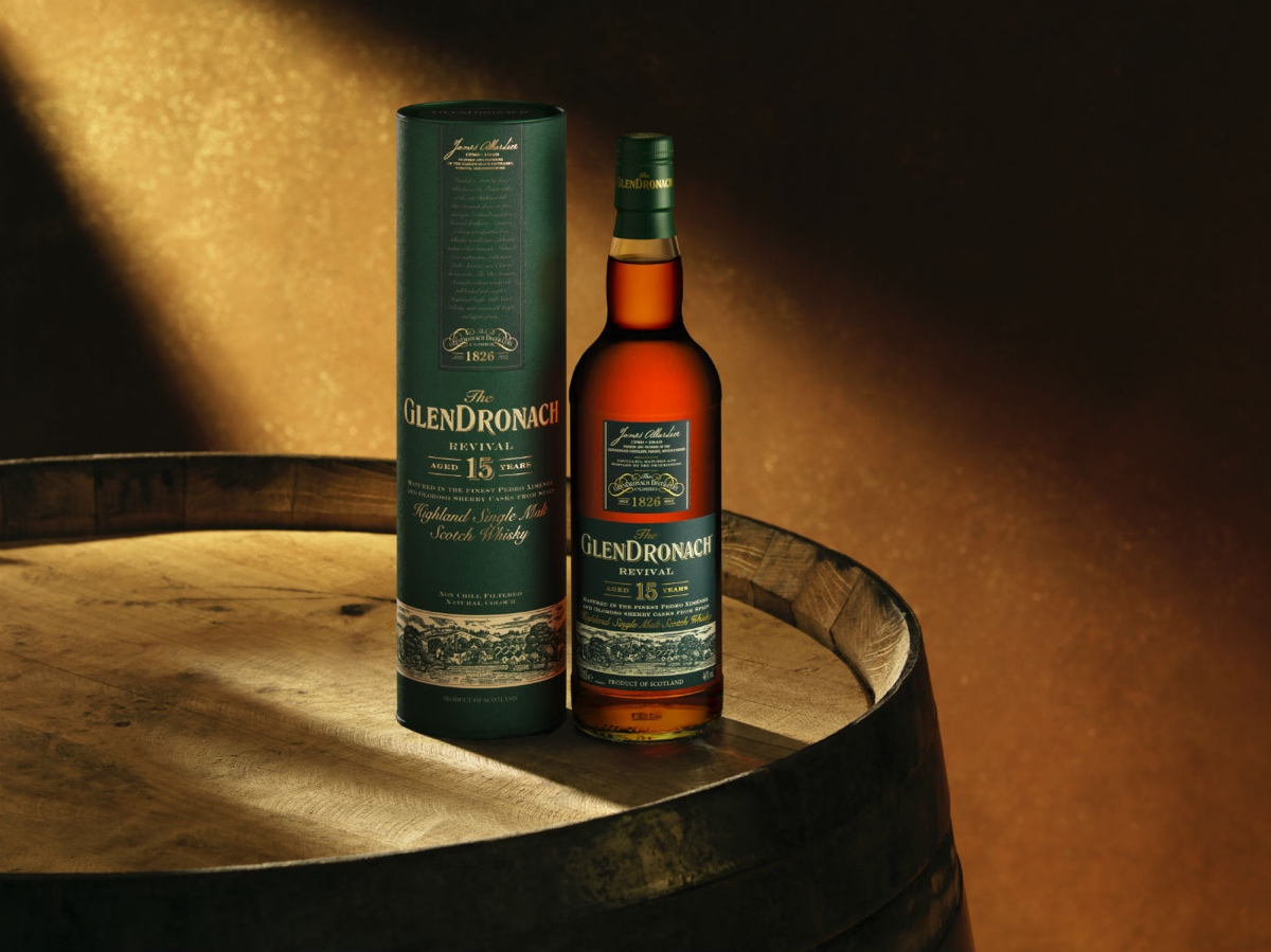 The GlenDronach Revival is bottled at 46% abv