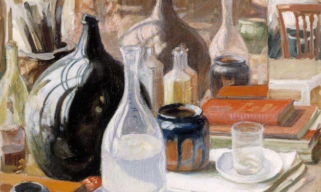 """""""Naturaleza muerta"""" (1909), de Pekka Halonen"""
