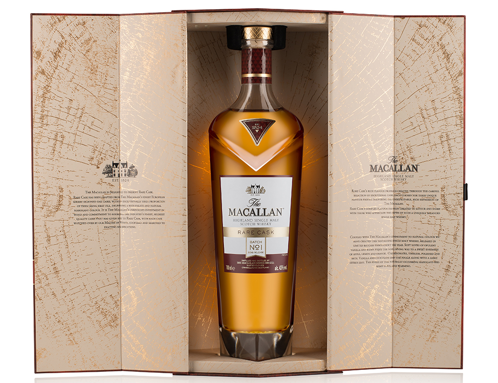 Macallan Rare Cask is now a limited edition batch release