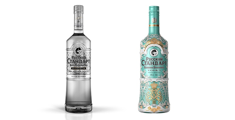 Russian Standard Vodka has launched a travel retail-exclusive Winter Palace expression, at the same time as updating the recipe and packaging for its Platinum edition.