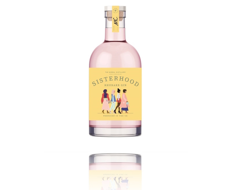 Sisterhood Rhubarb Gin is the latest pink expression to come to market