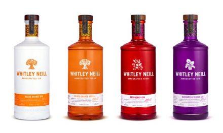 Halewood actualiza el diseño de la botella de Whitley Neill