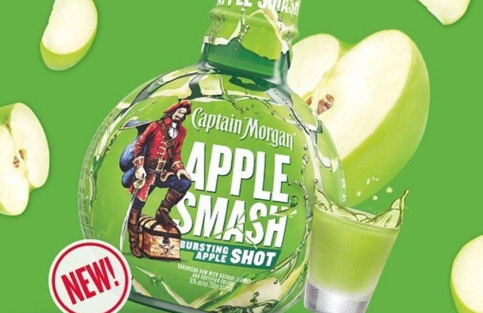 Captain Morgan lanza Apple Smash