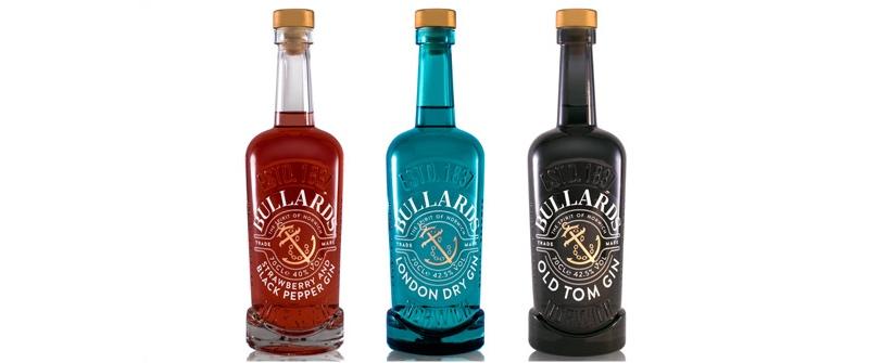 Bullards Gin presenta su nueva identidad de marca