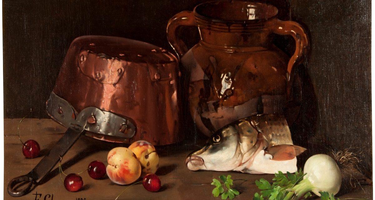 """""""Bodegón"""" (1895), de Felipe Checa y Delicado"""