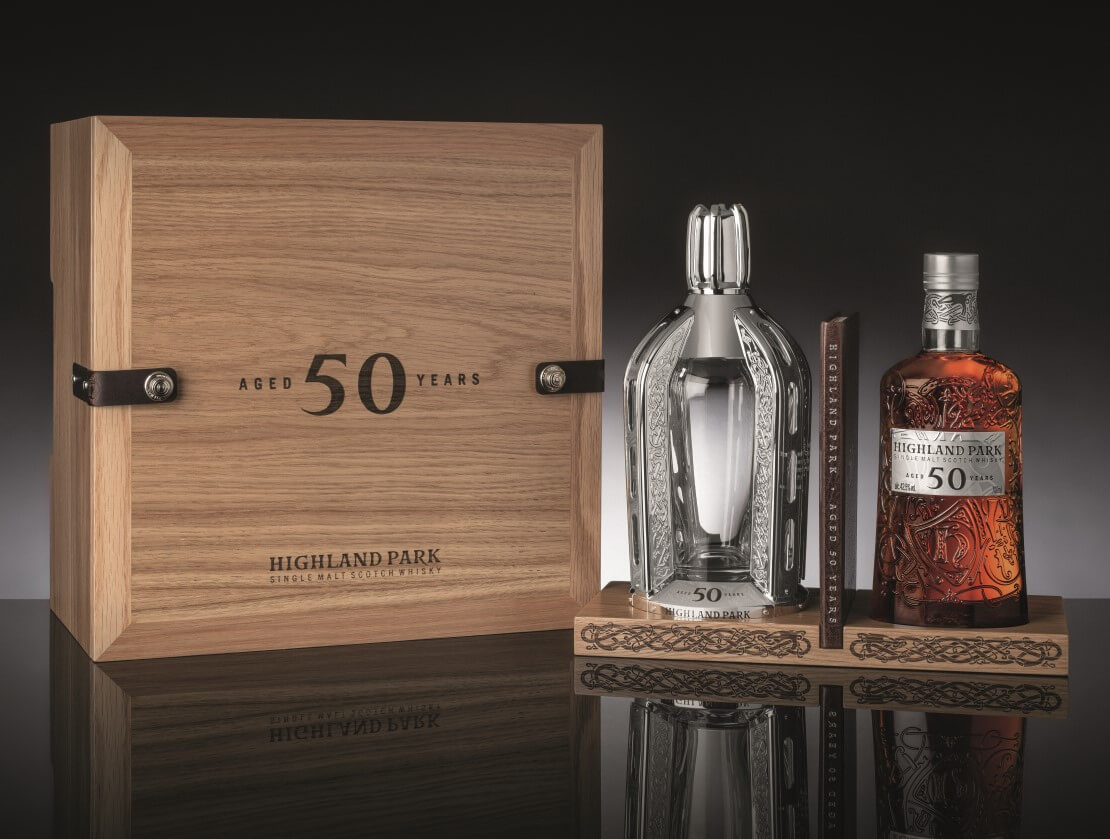 Highland Park 50 Year Old is the Orkney distillery's oldest release in nearly a decade