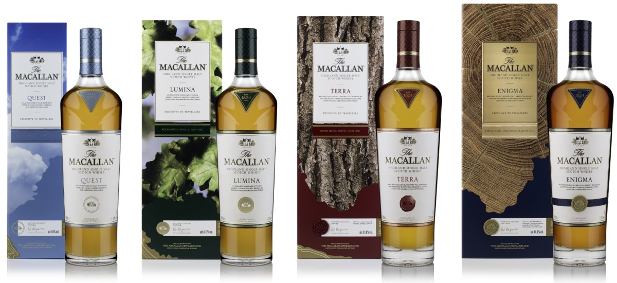 The Macallan Quest Collection is the brand's new GTR exclusive offering