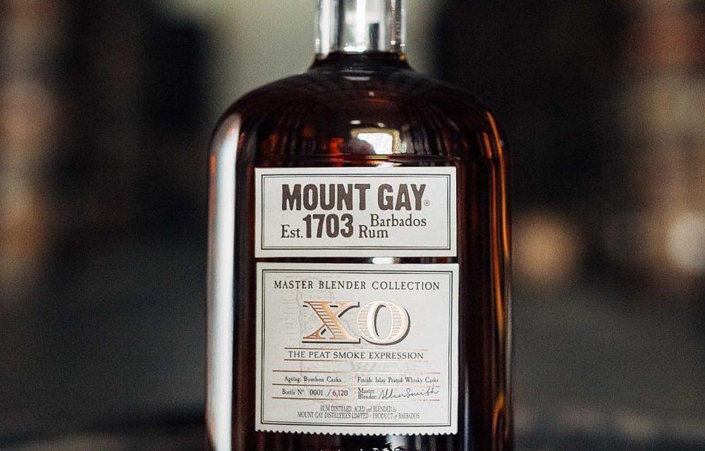 Mount Gay lanza una edición limitada de ron ahumado, XO The Peat Smoke Expression