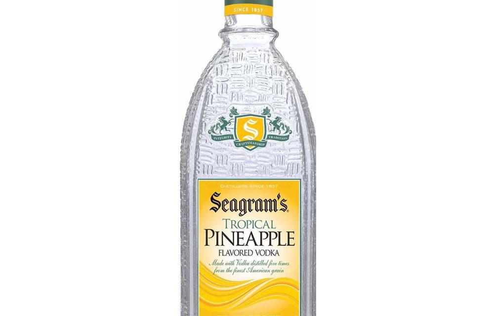 Seagram's lanza  Seagram's Tropical Pineapple Flavoured Vodka, sabor a piña