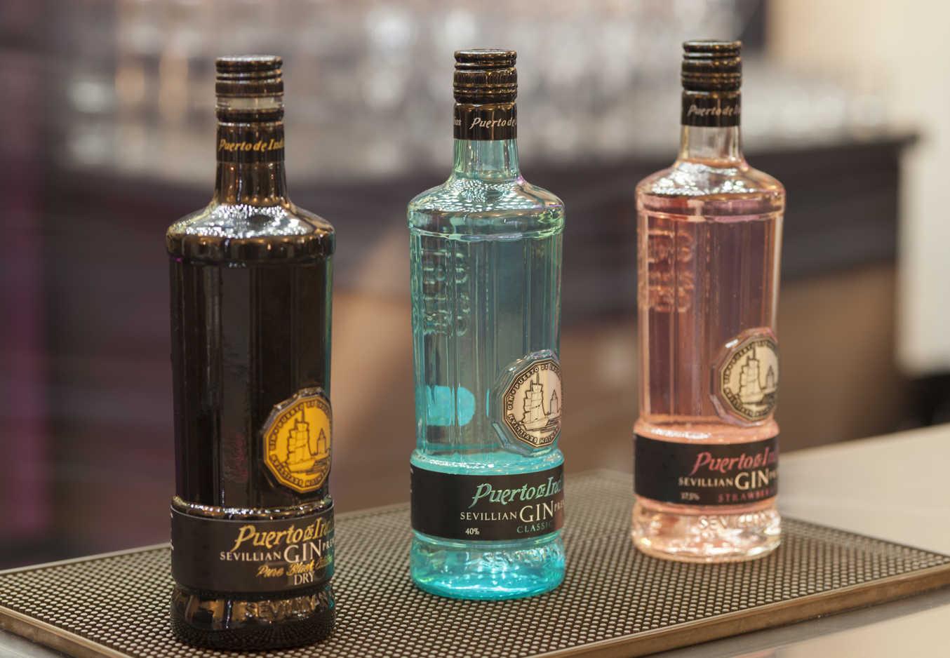 'Puerto de Indias' copa el 55% del consumo nacional de gin rosas