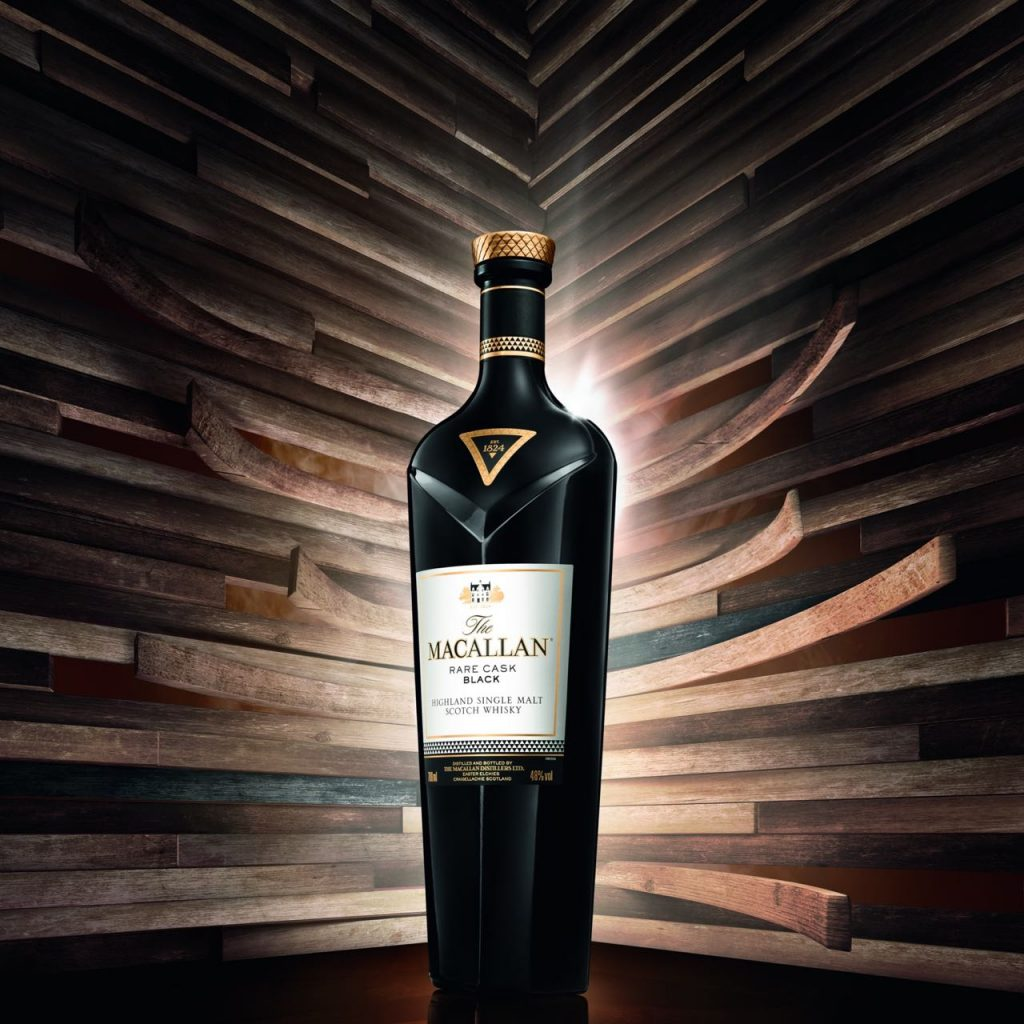 The Macallan Rare Cask Black will be exclusively available in global travel retail from October.