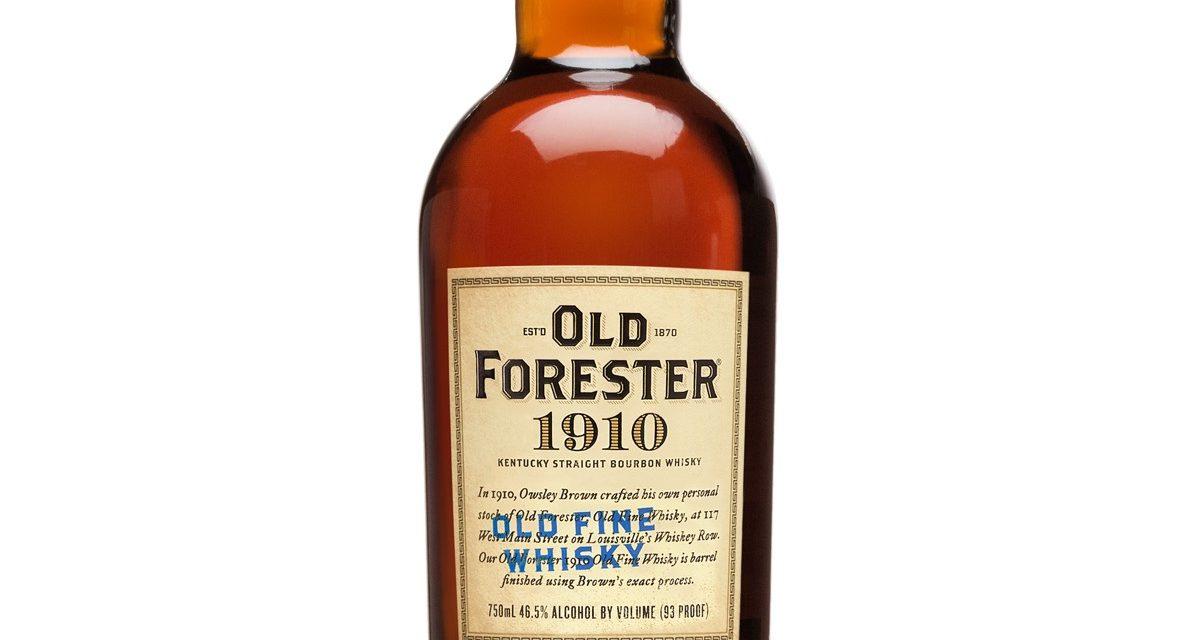 Old Forester lanza la cuarta expresión de su serie Whiskey Row, 1910 Old Fine Whiskey