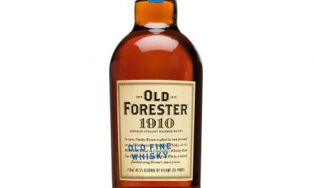 Old Forester lanza la cuarta expresión de su serie Whiskey Row, 1910 Old Fine Whiskey
