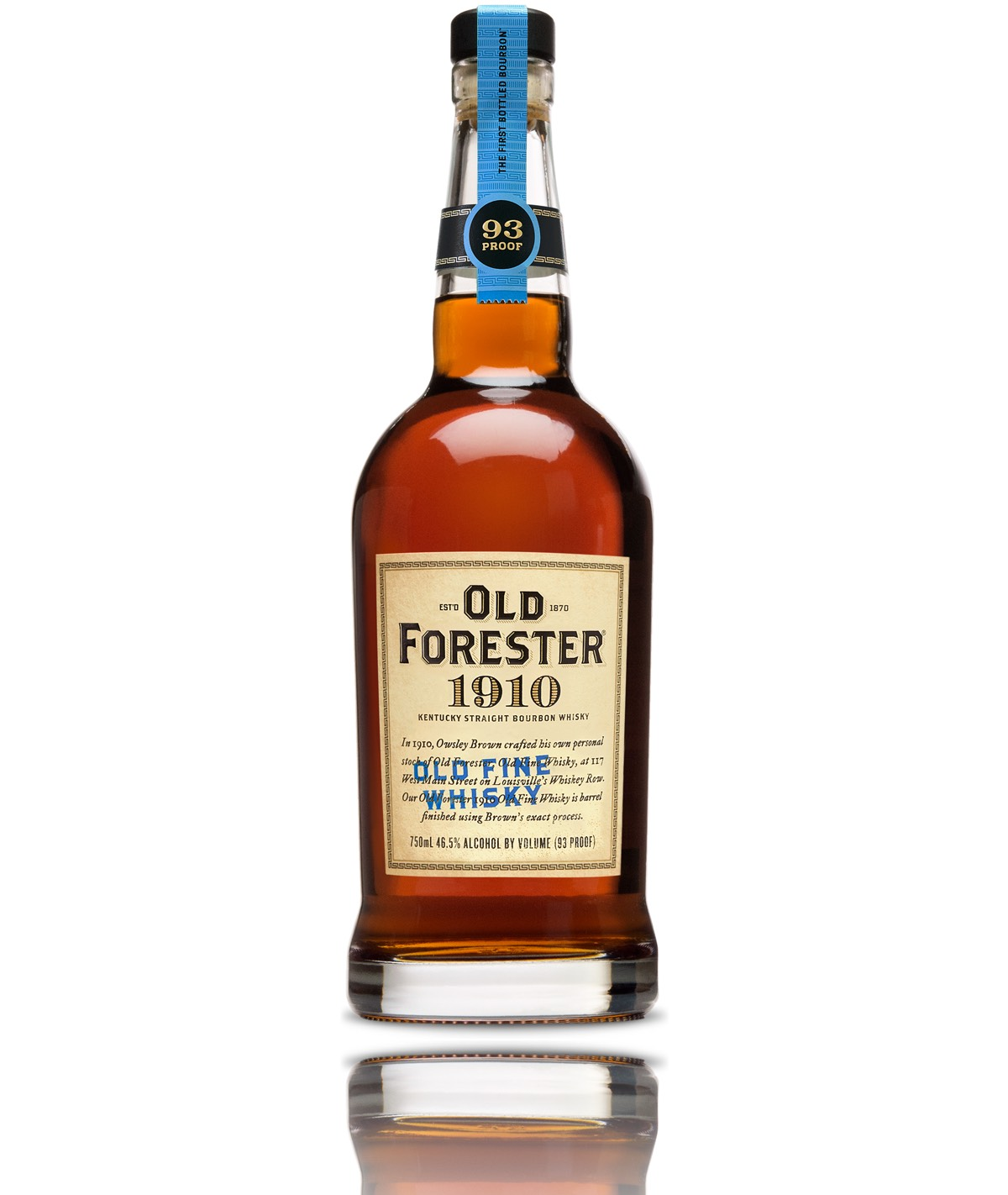 1910 Old Fine Whiskey