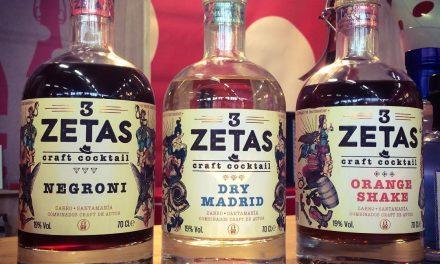 Vermut Zarro y Santamanía lanzan '3 Zetas', nueva línea de cócteles craft