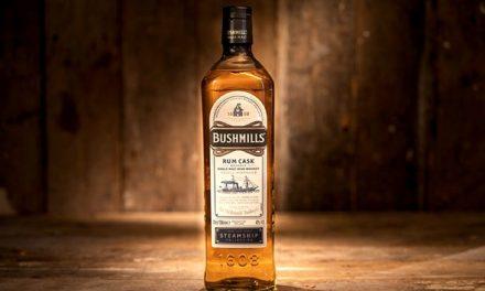 Bushmills lanza Rum Cask Reserve, whisky en barril de ron para el mercado minorista de viajes