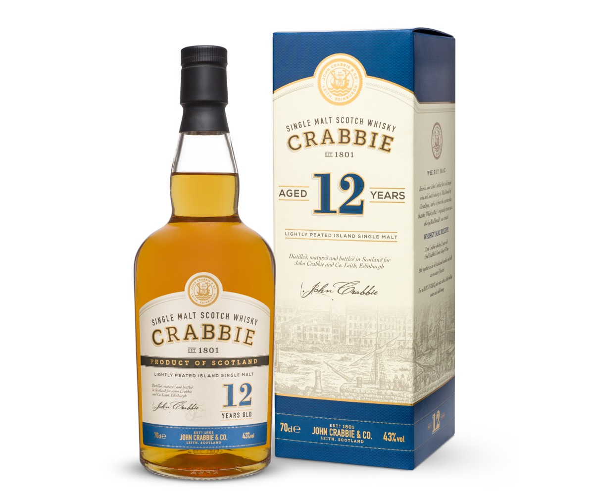 John Crabbie & Co launches 12yo Scotch whisky