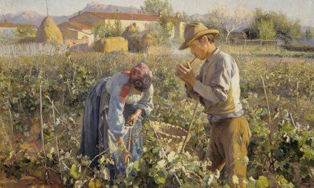 """En la viña"" (1898), de Kleopatra Elin Danielson-Gambogi"