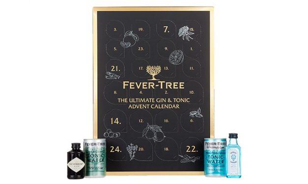 Fever-Tree crea su propio calendario de adviento con ginebras y tónicas