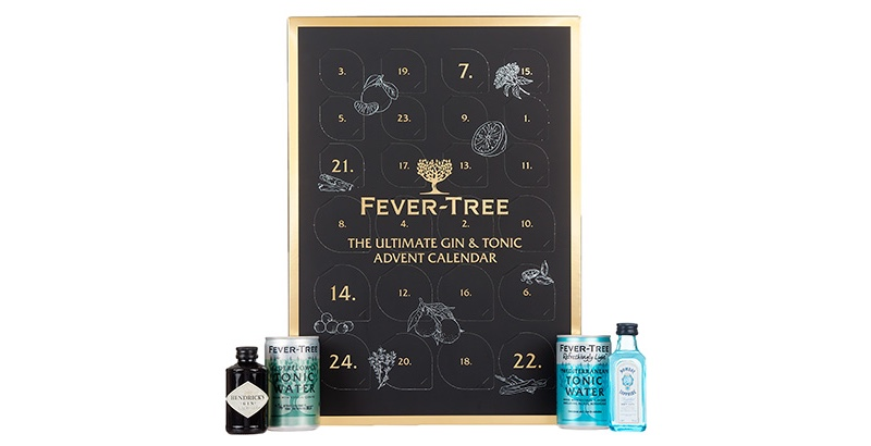 Fever-Tree has launched the Ultimate Gin & Tonic Advent Calendar for Christmas 2018